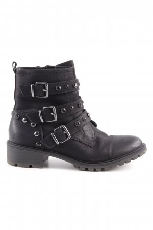 Catwalk Booties schwarz Biker-Look