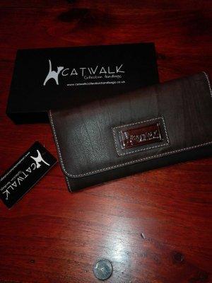 Catwalk Geldbörse * Ledergeldbeutel * neu*