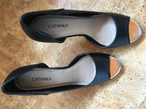 Catwalk hohe Schuhe wie neu