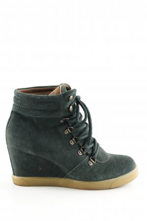 Catwalk Wedge Booties green casual look
