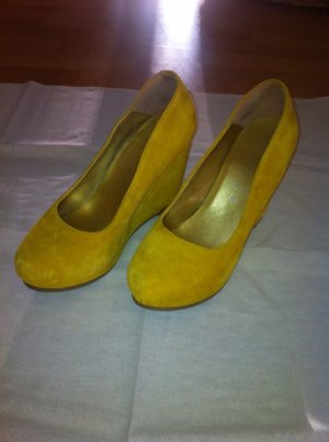 CATWALK Keilpumps, gelb