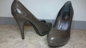 ★ Catwalk PlateauPumps anthrazit ★