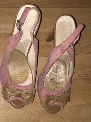Catwalk Wedge Pumps light pink