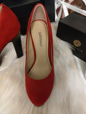 Catwalk Tacones altos rojo