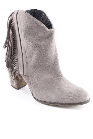 Catwalk Reißverschluss-Stiefeletten grau Casual-Look