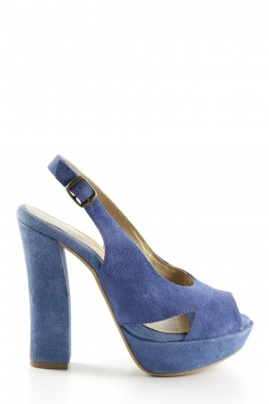 Catwalk Slingback Pumps blue casual look