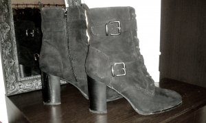 Catwalk Laarzen met hak zwart