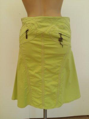 Cavalli Midi Skirt meadow green
