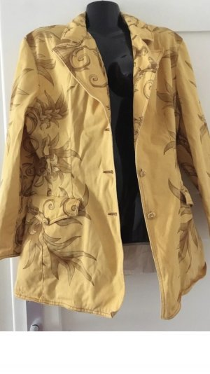 Cavalli Denim Blazer yellow