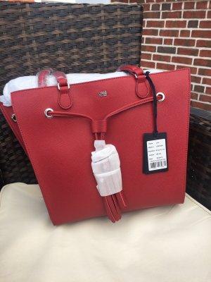 Cavalli Handbag dark red