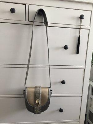 cavalli class Minitasje zilver-goud Leer