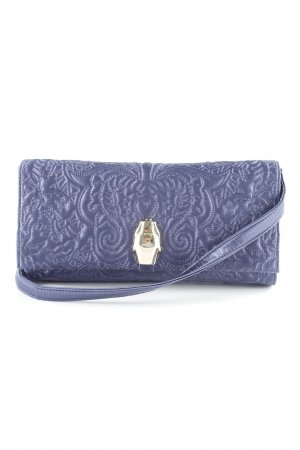 Cavalli Clutch graublau-goldfarben Party-Look