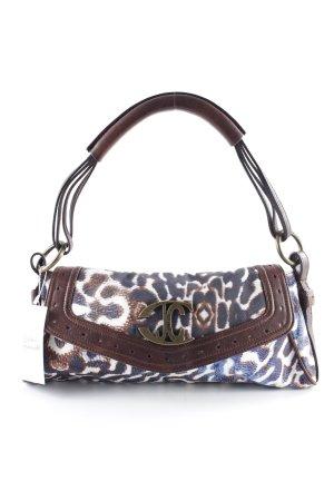Cavalli Handtasche abstraktes Muster Retro-Look