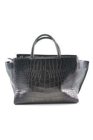 Cavalli Carry Bag black animal pattern elegant