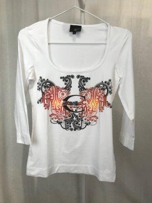 Cavalli Shirt mit 3/4-Arm und Print