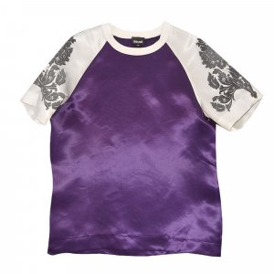Cavalli T-Shirt, Top, Lila, Gr. 38-40
