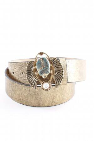 Cavalli Waist Belt gold-colored-grey extravagant style