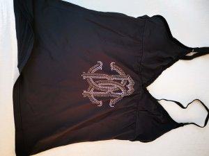 Cavalli Top in schwarz Gr. 36 bis 38
