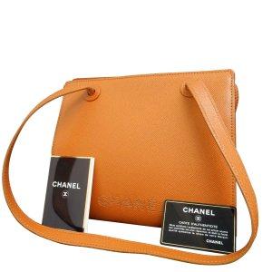 Chanel Sac à main brun cuir