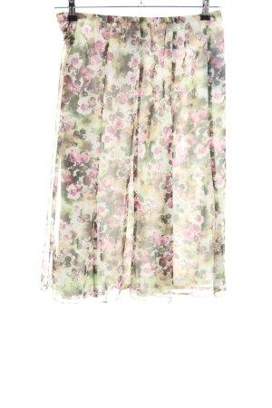 Cavita Midi Skirt flower pattern casual look