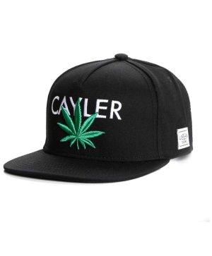Cayler & Sons Gorra de béisbol negro-verde bosque