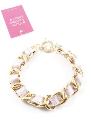 CC Skye Collier incrusté de pierres doré-rosé style décontracté