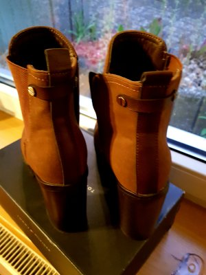 Ankle Boots black-brown
