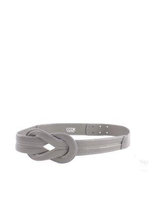 CCDK Taillengürtel grau minimalistischer Stil