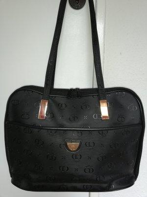 CD Noble Elegance Vintage Schulter-/Laptoptasche schwarz