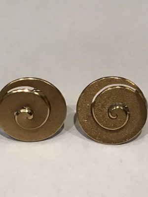 CD Earclip gold-colored
