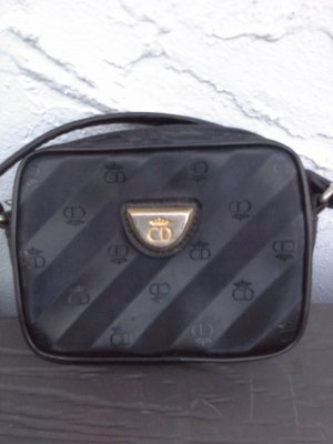 CD Shoulder Bag black-dark grey
