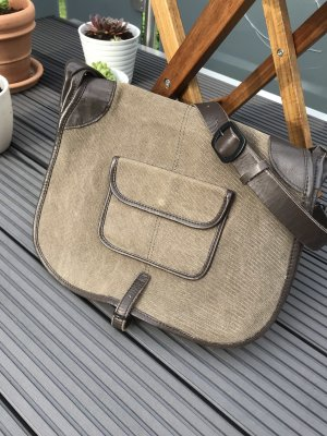 Comptoir des Cotonniers College Bag olive green-dark brown