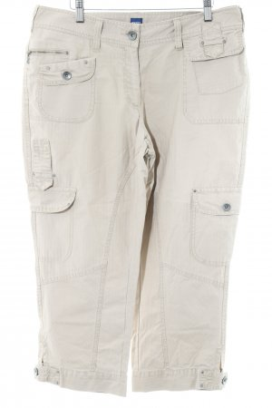 Cecil 3/4 Length Trousers beige casual look