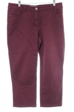 Cecil 3/4 Length Trousers blackberry-red casual look