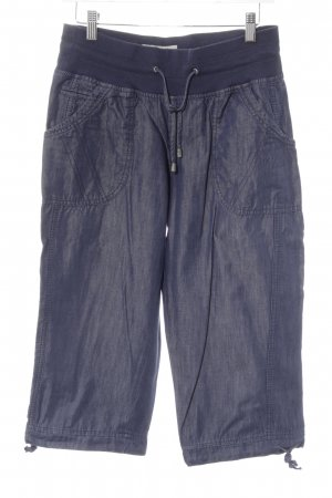 Cecil 3/4 Length Trousers dark blue jeans look