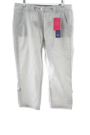 Cecil Pantalone a 3/4 grigio chiaro stile casual