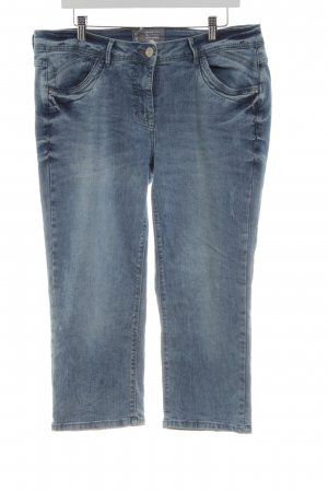 Cecil 3/4 Length Jeans blue-brown casual look