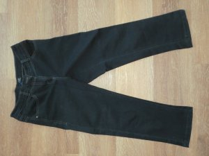 Cecil 3/4 Length Trousers dark blue mixture fibre