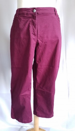 Cecil 7/8 Length Trousers blackberry-red