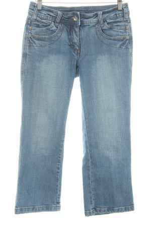 Cecil 7/8 Jeans blau Casual-Look