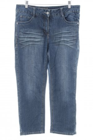Cecil 7/8 Jeans dunkelblau Casual-Look