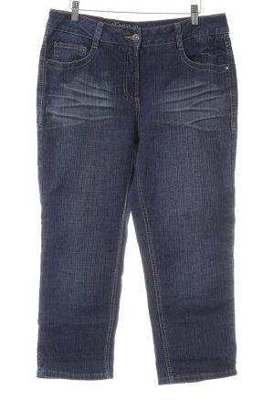 Cecil Jeans 7/8 bleu foncé style décontracté