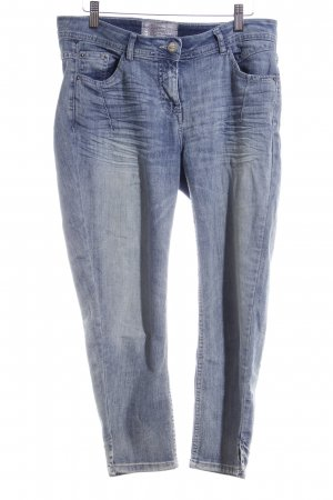 Cecil 7/8-jeans donkerblauw-leigrijs casual uitstraling
