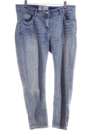 Cecil 7/8 Jeans dunkelblau-graublau Casual-Look