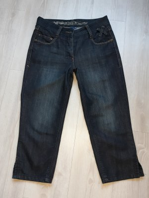 Cecil 7/8-jeans blauw-donkerblauw