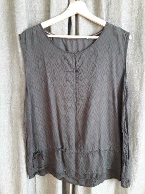 Cecil Camisa de mujer gris oscuro