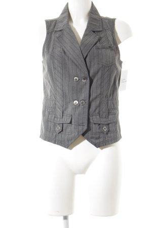 Cecil Gilet grigio gessato elegante