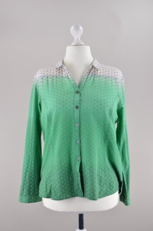 Cecil Bluse mit Muster grün Größe L