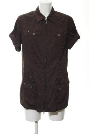 Cecil Abito blusa marrone scuro stile casual