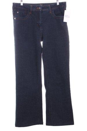 Cecil Boot Cut Jeans blau Casual-Look